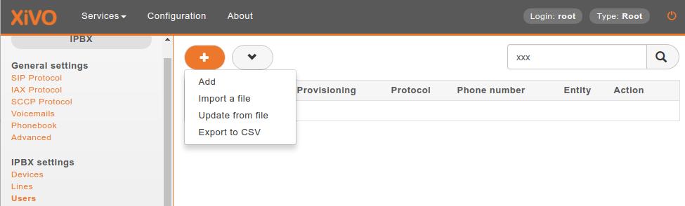 SCCP Configuration — XiVO Solutions documentation