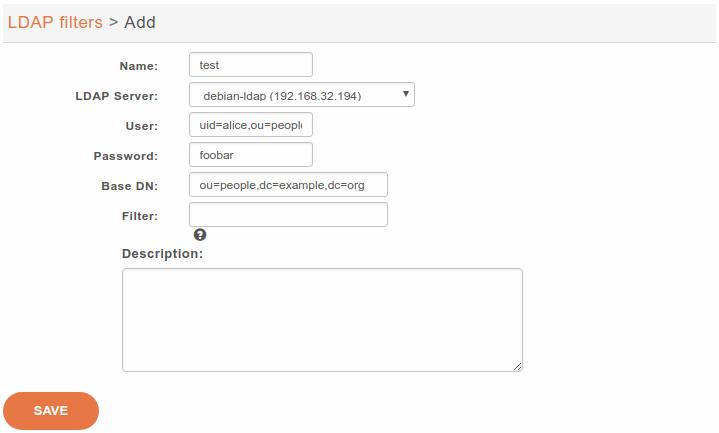 LDAP — XiVO Solutions documentation